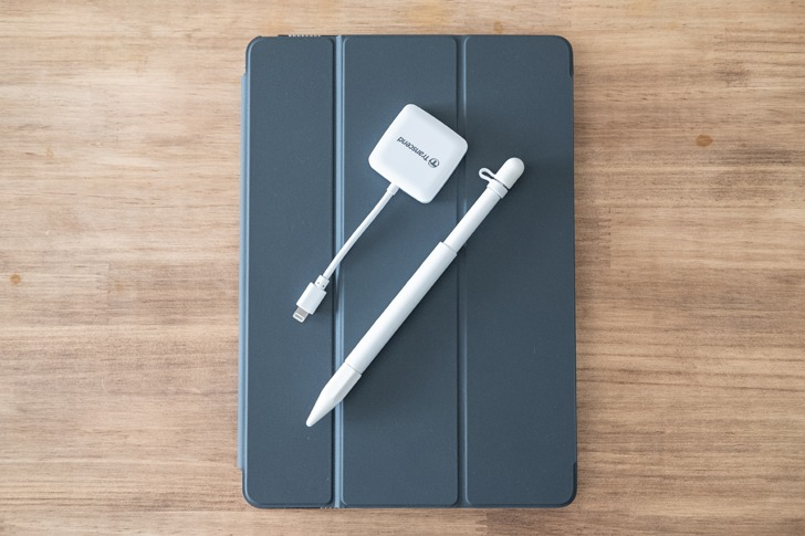ipad apple pencil SDカードリーダー