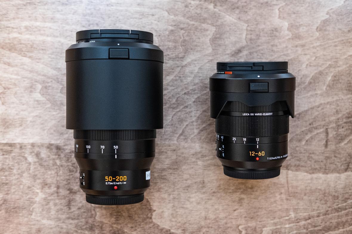 H-ES50200とH-ES12060の大きさ比較画像