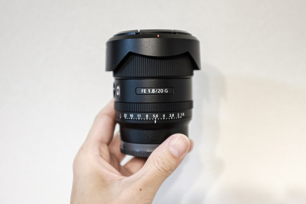 SONY FE 20mm F1.8 G SEL20F18G 商品画像